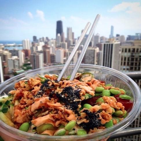 Aloha Poke Sushi Bowl Delivery 2