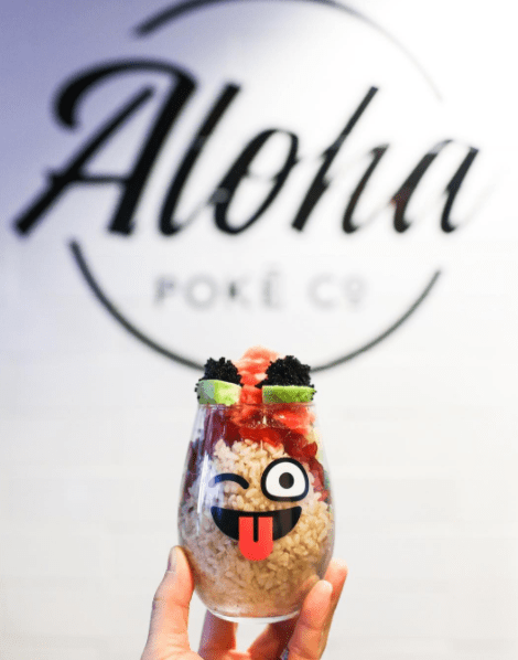 Follow Aloha Poke on Instagram